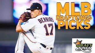 4/12/18 MLB DRAFTKINGS PICKS