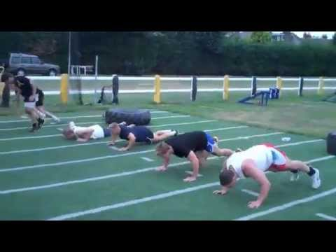 James Haskell's Power, Fitness and Rugby Training Session