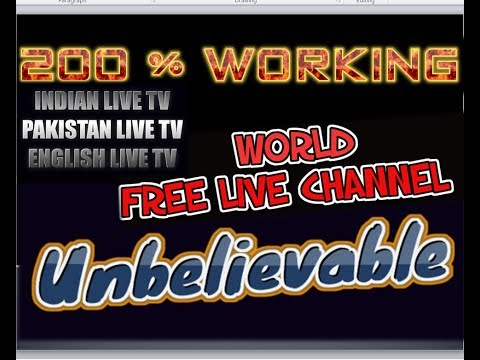 LIVE Hindi Indian CHANNEL FREE ADDON 2018 - Unbelievable  - FAST Working ADDON