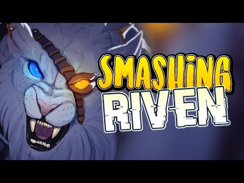 SMASHING Dawnbringer Riven - Rengar Ranked Jungle Gameplay