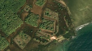 Images From Above Reveal An Ancient City In The Middle Of The Ocean