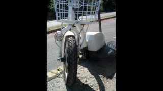 Elektromos háromkerekű kerékpár ZT 16