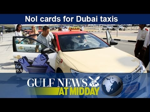 Dubai taxis to accept Nol and credit card payments - GN Midday