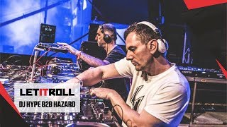 DJ HYPE b2b HAZARD - Let It Roll 2017 [Main stage]