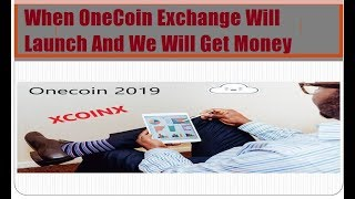 OneCoin Exchange Official Update - OneCoin Exchange Rules