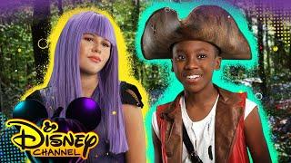 Parody Descendants 17 Trailer ft. Issac Ryan Brown 🎥 | Halloween House Party | Disney Channel