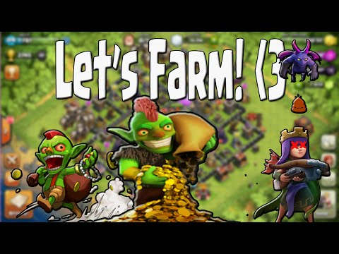 Clash of Clans - Lets Farm ep6 | Ipad Air 2 | ThanksGiving Update!