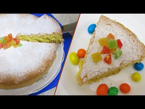 How to Cook Three Ingredient Corn Flour Sponge Cake - Simple Homemade Recipe Wheat-Free Sponge Cake