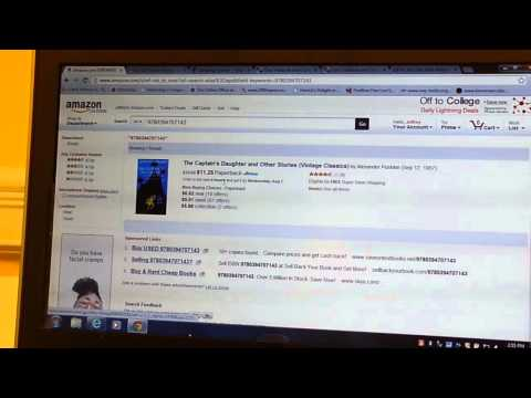 How to Buy Books and Sign up for Amazon Student Prime