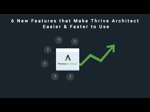 6 New Features that Make Thrive Architect Easier & Faster to Use