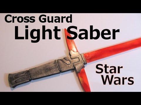 Make the Kylo Ren  LightSaber from Star Wars