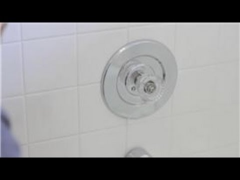 Faucet Repair : How to Remove a Single Handle Bath-Shower Faucet