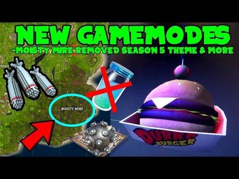 Save The World FREE, 2 NEW Gamemode, Season 5 Leaks, BLOCKBUSTER Skin & More(Fortnite Battle Royale)