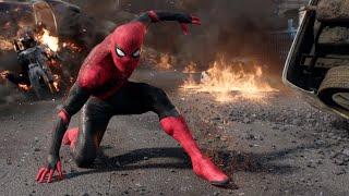 Spider-Man: Far From Home (2019) - ''Spider-Man Vs. Drones''   Movie Clip HD