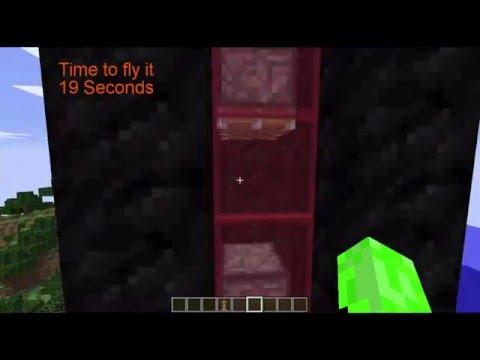 Minecraft piston elevator (Mincraft 1.9 and up)