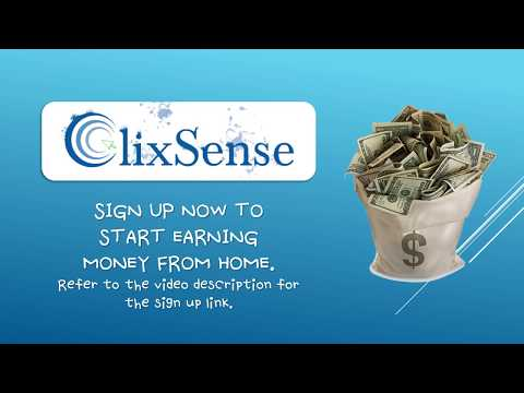 How to Earn Money on Clixsense (2018)