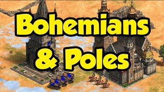 Introduction to Bohemians and Poles (New AoE2 civs)