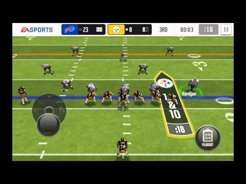 FIFA and Madden mobile