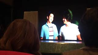 BEHIND JoshLia and Sharon-Robin watching Unexpectedly Yours trailer | Grand Presscon