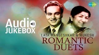 Best Of Lata Mangeshkar & Mukesh  Duets   Classic Romantic Songs   Audio Jukebox