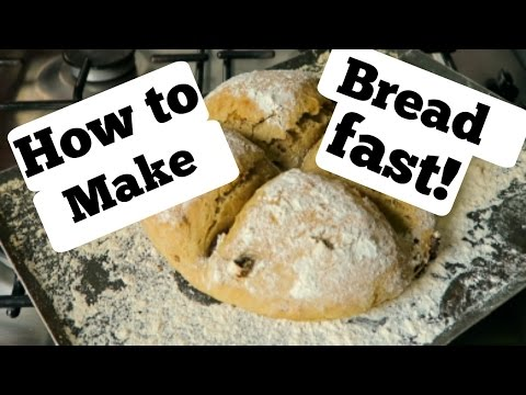 How to make bread fast! Best way to de-stress