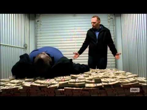 Breaking Bad - Huell money pile scene