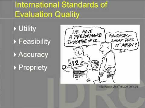 12. A Perspective on Monitoring and Evaluation