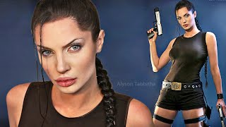 Lara Croft (Tomb Raider) Angelina Jolie Makeup / Hair / Costume - Cosplay Tutorial