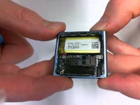 iPod nano 6 Power Switch Repair  Make it Click
