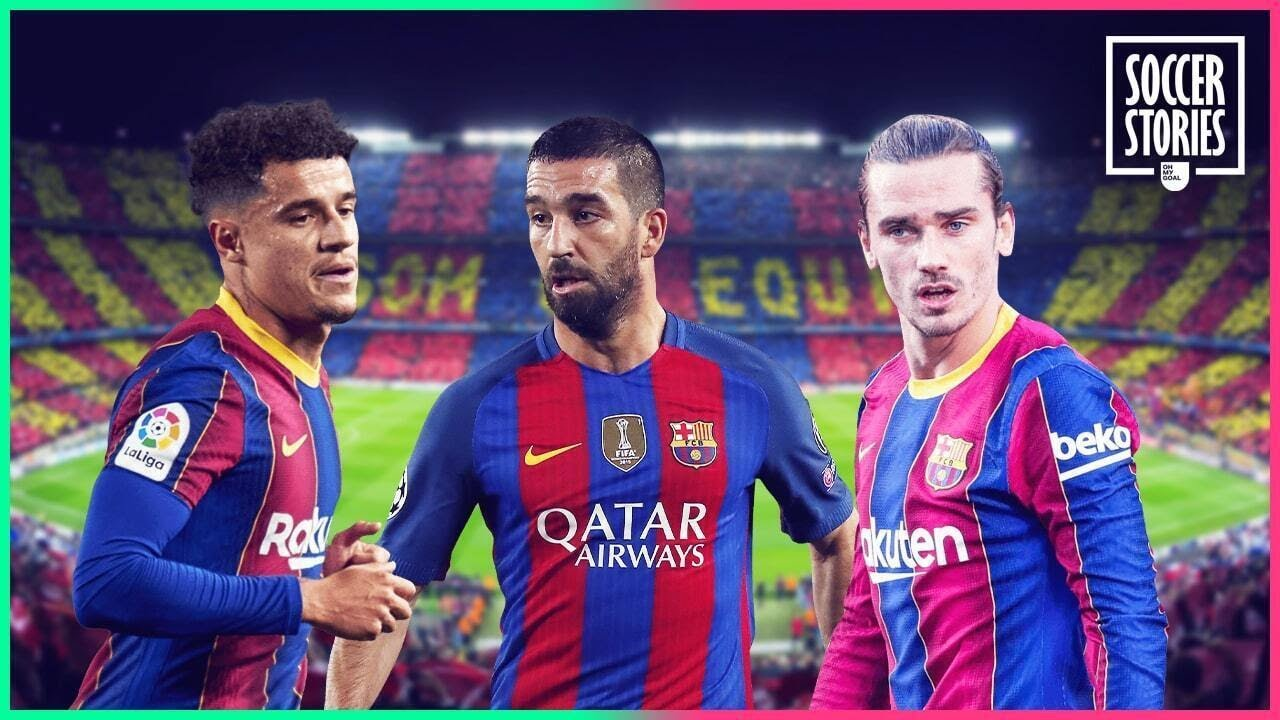 10 players that ruined their careers by signing for FC Barcelona | Oh My Goal
