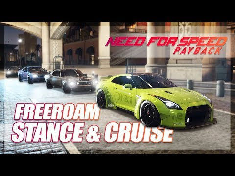Need For Speed Payback - Freeroam!!! (Intro Cinematic & Cruising)