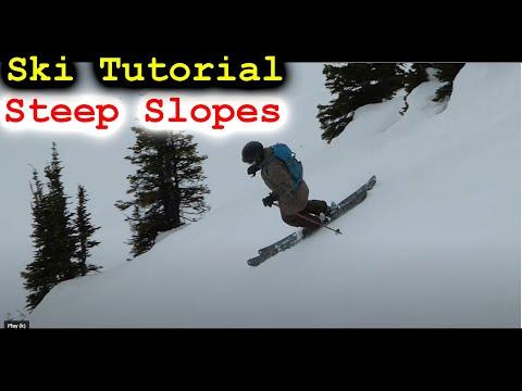 Steep Slope Ski Turn Tutorial
