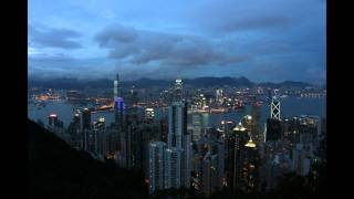 Victoria Peak Sunset Timelapse
