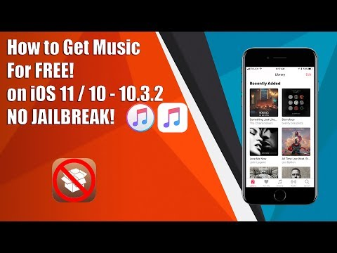 How to Get Music for FREE on iOS 11 / 10 - 10.3.2 NO JAILBREAK!