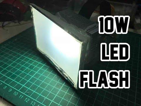 12V 10W Led Flash Light