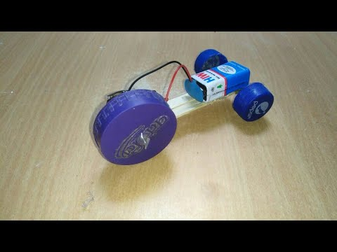 How to make a THREE WHEEL RC TOY CAR at Home