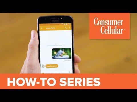 Motorola Moto E4 Plus: Sending and Receiving a Text Message (4 of 8) | Consumer Cellular