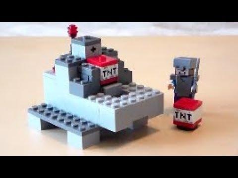 Lego Minecraft TNT Cannon Tutorial