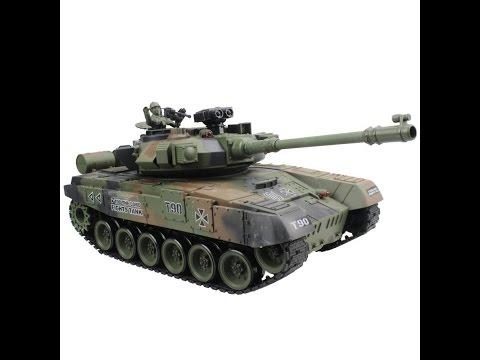 Стреляющий танк на радиоуправлении Shooting tank RC