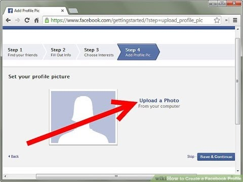 How to Upload your Profile Picture on Facebook -THE RIGHT WAY