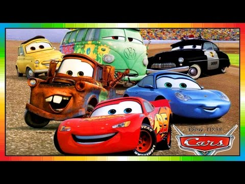 Cars 1 First Race Part 1 Disney Pixar Cars Full Movie Part 1