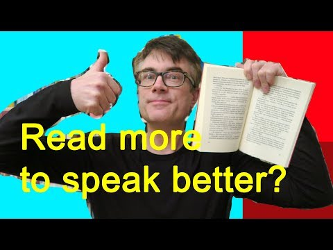 Reading to speak your foreign language?