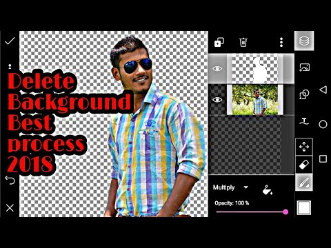 How to remove background//Picsart Tutorial//Delete Background//Change background