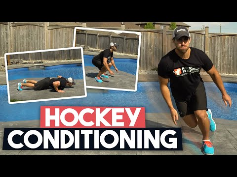 Hockey Conditioning Workout [For At Home] 🏒