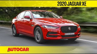 2020 Jaguar XE Facelift India Review | First Drive | Autocar India
