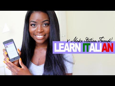 How to learn Italian and Make Italian Friends