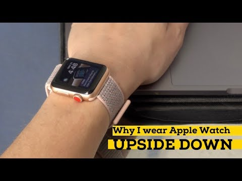 Why I wear the Apple Watch upside down —and love it [iMore]
