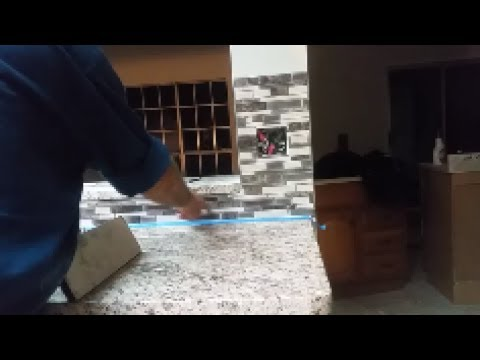 How to Grout a kitchen mosaic backsplash   Part 3   Step By Step