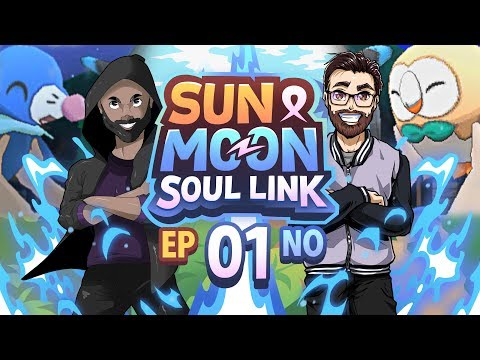 SMOOTH! Pokémon Sun & Moon Soul Link Randomized Nuzlocke w/ TheKingNappy Ep 01