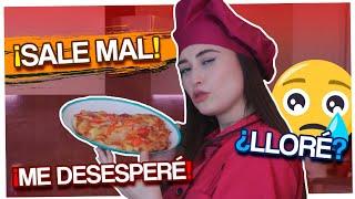 EL PEOR VIDEO DEL MUNDO - COCINO PIZZA EN MAS DE 6 HRS (QUIERO LLORAR)